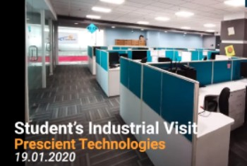 Student's Industrial Visit - Jan 2020